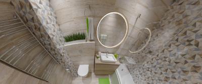 3D- прогулка по ванной комнате